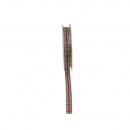 Ruban tissé Hana largeur 15mm, longueur 15m, vert